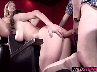 Molly likes to share big cock with horny mommy Cherie