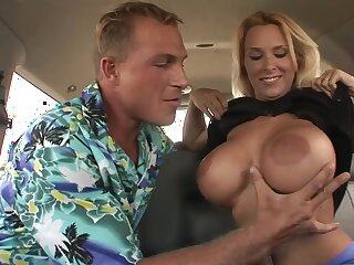 Saucy mom Smashed Close to be transferred to Back of a Van - Holly Halston