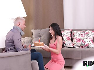 The anniversary sex with a temptingly hot babe Seymour Wish