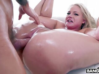 Big Booty Blonde Takes Euphoria In Her Ass